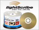 HP 16x 4.7GB LightScribe DVD-R Media