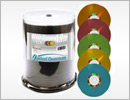 OQ 16x 4.7GB Color LightScribe DVD-R Media