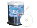 Optical Quantum BP Water Resistant 16x DVD-R Media White Inkjet Printable
