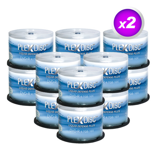 graphic regarding Printable Dvd Discs referred to as PlexDisc 16X 4.7GB H2o Resistant Shiny White Inkjet Printable DVD-R - 1200 Disc