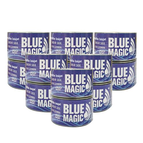 photograph regarding Printable Dvd Rs identify BlueMagic 16X 4.7GB White Inkjet Printable DVD-R Blank Media - 600 Disc