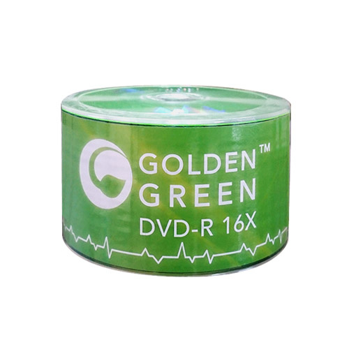 picture about Printable Dvd-r identify GoldenGreen 16X 4.7GB Symbol Final DVD-R Blank Media - 50 Disc