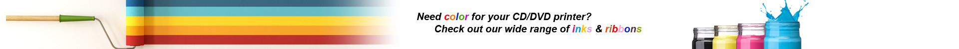 Banner color ink